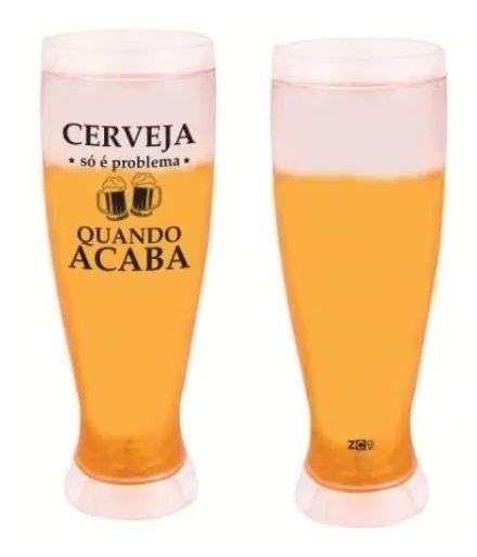 Copo Chopptulipa 450ml Cerveja Quando Acaba - Zona