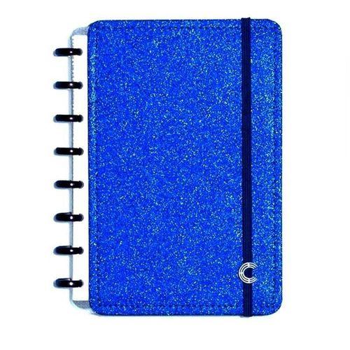 CADERNO INTELIGENTE GLITTER BLUE - A5