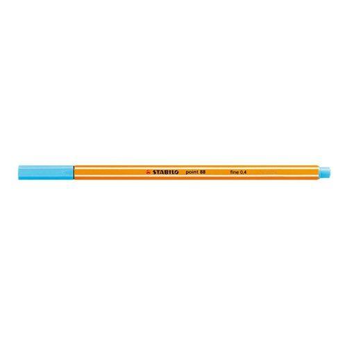 Caneta Stabilo Point 88/57 0.4Mm - Azul Claro - Stabilo