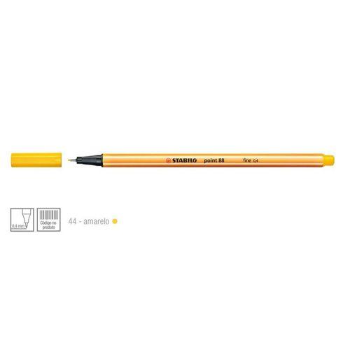 Caneta Hidrografica Stabilo Point 88/44 Amarelo