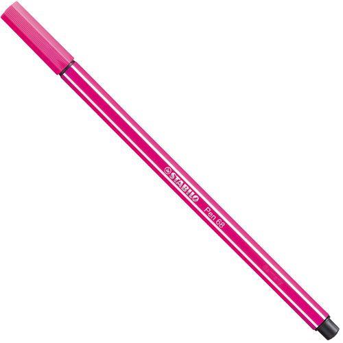 Caneta Ponta Sintetica Stabilo Pen 68 Rosa Sp68 56