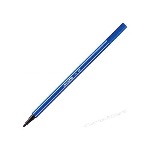 Caneta Stabilo Pen 68/32 Azul Escuro