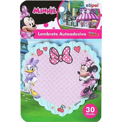 Adesivo stick Minnie notas adesivas - Etipel