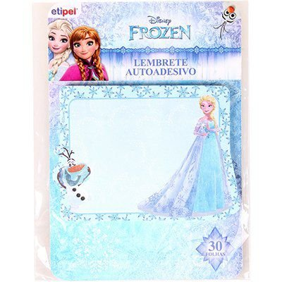 Adesivo stick Frozen notas adesivas  Etipel