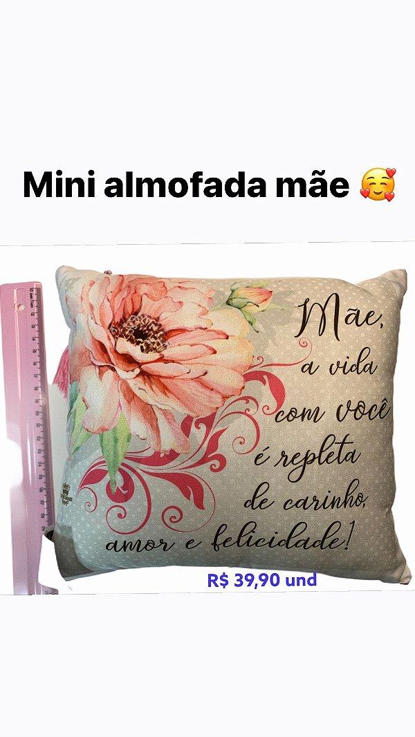 MINI ALMOFADA - MÃE