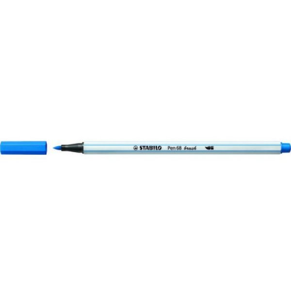 CANETA STABILO PEN BRUSH 568/41 AZUL ROYAL