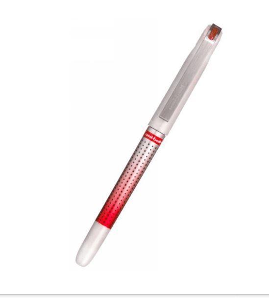 Caneta Roller Ball Uni-ball Eye Needle 0.7 Mm Vermelho
