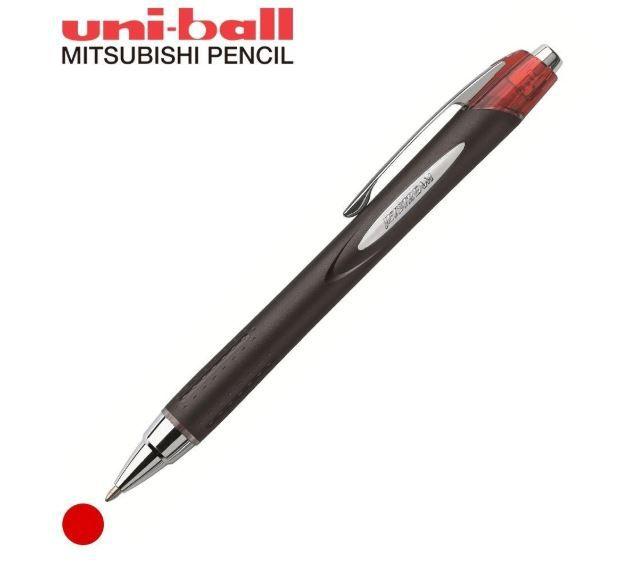 Caneta Uni-Ball Jetstream - Rollerball Retrátil Vermelha