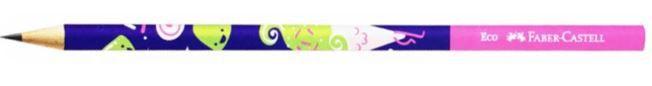 Lápis Grafite Faber Castell Candy Party