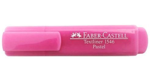 Marcador Textliner  FABER CASTELL Pastel Rosa
