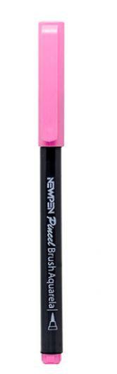 Caneta Pincel Brush Pen Pastel Rosa Quarts  Newpen