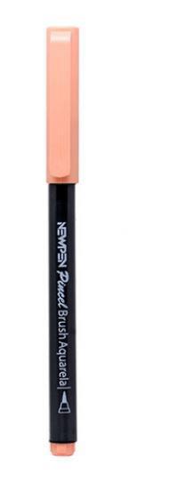 Caneta Pincel Brush Pen Pastel Laranja Pessêgo Newpen