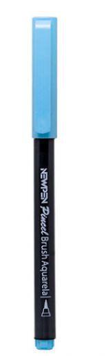 Caneta Pincel Brush Pen Pastel Blue Ace Newpen