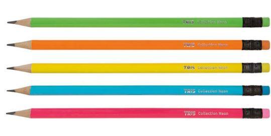 Lápis Preto TRIS Collection Neon (individual)