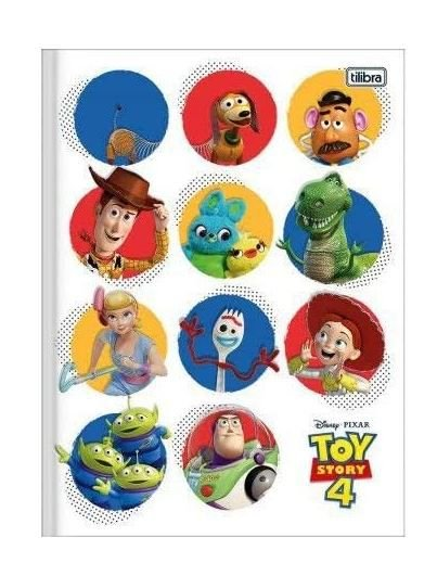 Caderno Brochurao C/D 80 Folhas Toy Story Tilibra