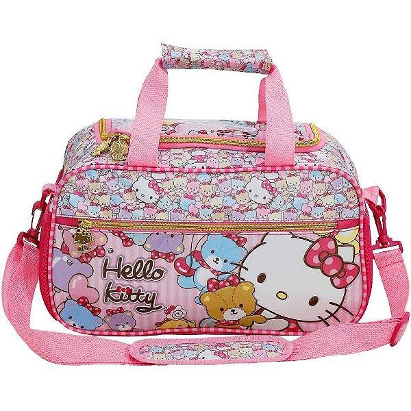 Bolsa Esportiva Viagem Hello Kitty Infantil Xeryus