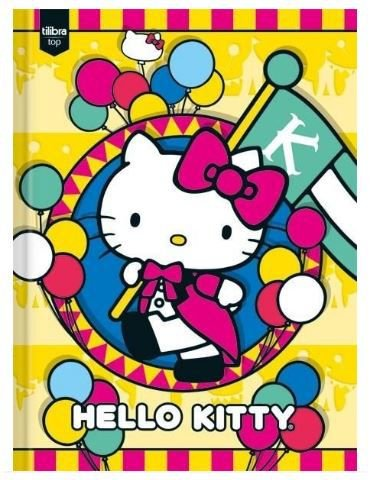 CADERNO BROCHURA CPD 96FLS HELLO KITTY
