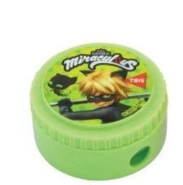 Apontador Com Depósito Miraculous - Ladybug Tris