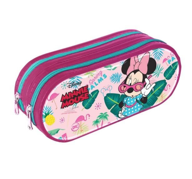 Estojo Escolar Dac Minnie Teen 2767 Duplo.