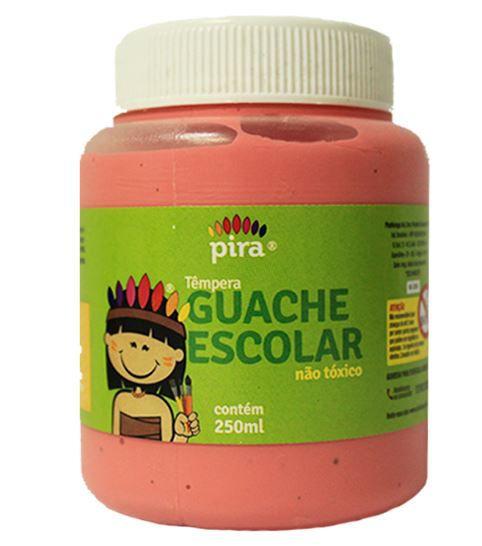 Tinta  Guache Piratininga Rosa 250ml