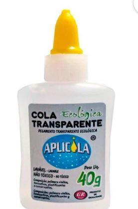 Cola Transparente Ecológica 40g Aplicola