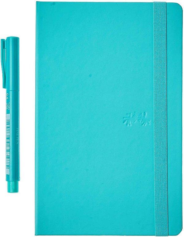 Caderneta Creative 84f Pontilhado Vd+caneta -faber