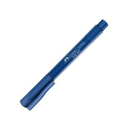 Caneta Fine Pen 0,4 Azul Escuro - Faber Castell