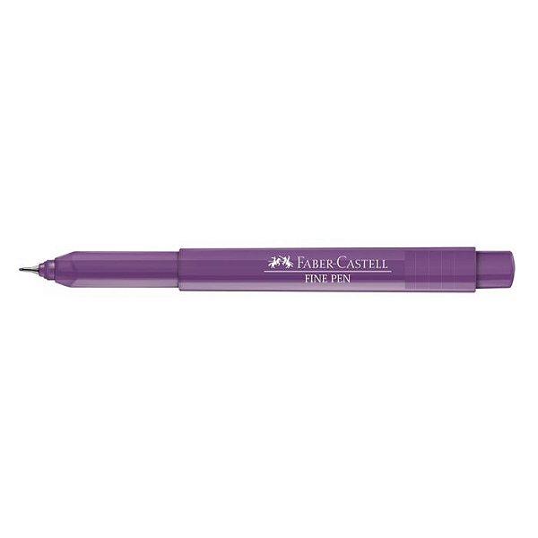 Caneta Fine Pen 0,4 Carmim - Faber Castell