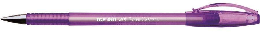Caneta Esf Boligrafos 061 Ice Roxa - Faber
