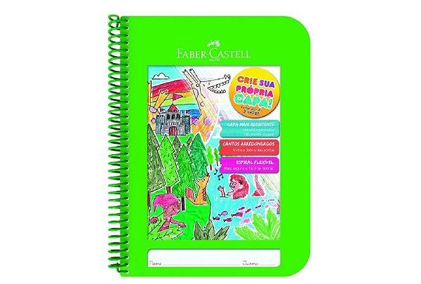 Caderno Criativo 96f Verde - Faber Castell