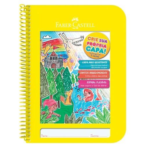 Caderno Criativo 96f Amarelo - Faber Castell