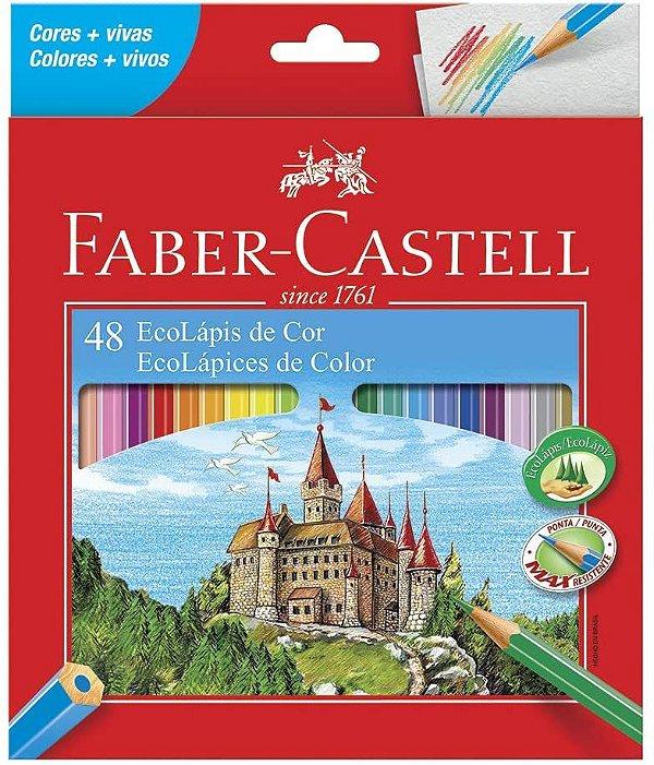 Ecolapis Cor C/48 Cores Lvm - Faber Castell