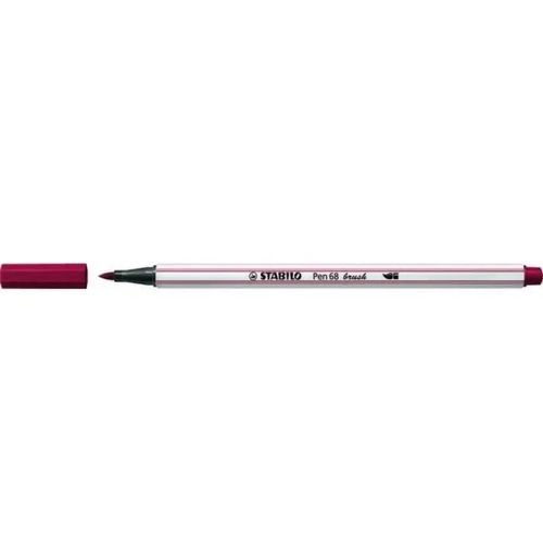 Caneta Pen 568/19 Brush Bordo - Stabilo