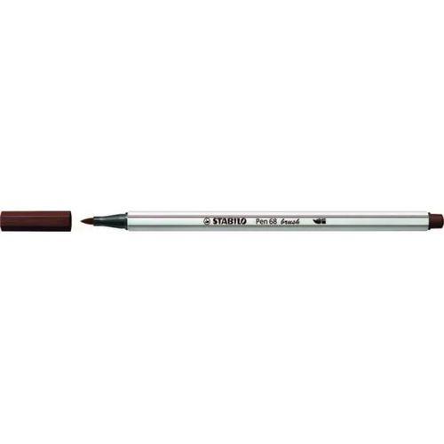 Caneta Pen 568/45 Brush Marrom Escuro - Stabilo