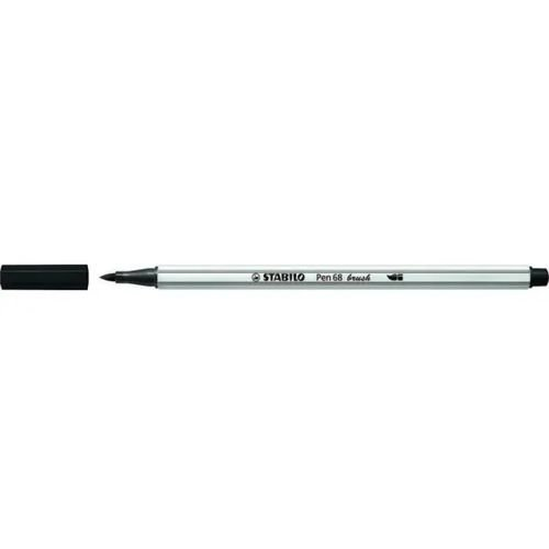 Caneta Pen 568/46 Brush Preta - Stabilo