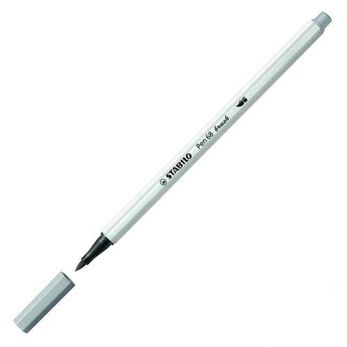 Caneta Pen 568/95 Brush Cinza Frio - Stabilo