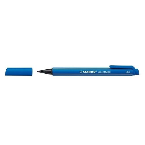 Caneta Pointmax 488/32 0,8mm Azul Marinho- Stabilo
