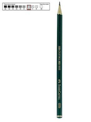Lapis Grafite Castell 9000 Hb - Faber Castell