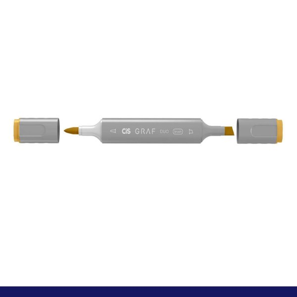 Marcador Graf Duo Brush 32 Deep Yellow- Cis
