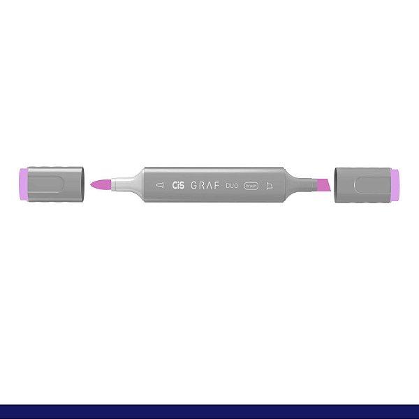 Marcador Graf Duo Brush 147 Pale Lilac - Cis