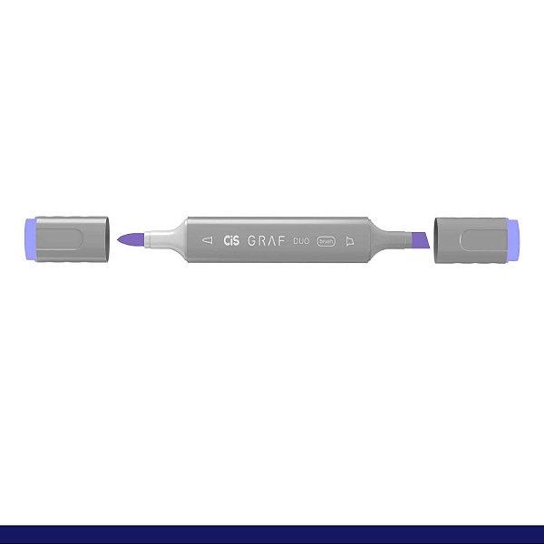 Marcador Graf Duo Brush 145 Pale Lavender - Cis