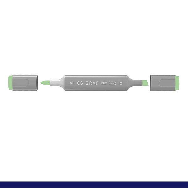 Marcador Graf Duo Brush 171 Jade Green - Cis