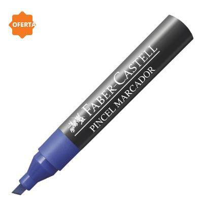 Pincel Marcador Azul - Faber Castell