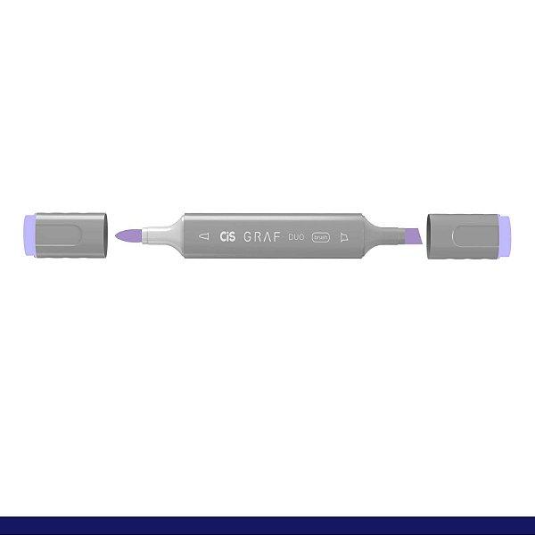 Marcador Graf Duo Brush 75 Dark Blue Light - Cis