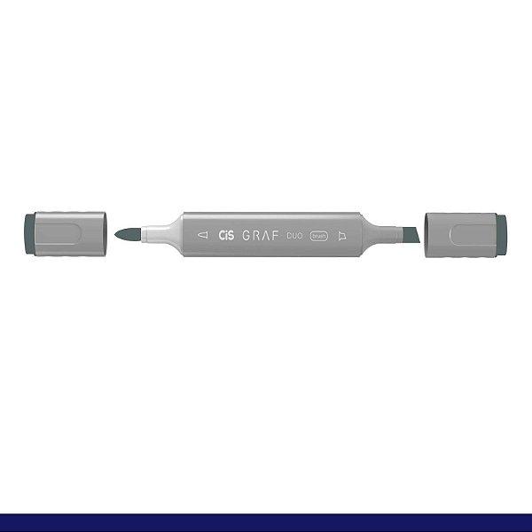 Marcador Graf Duo Brush Bg7 Blue Grey - Cis
