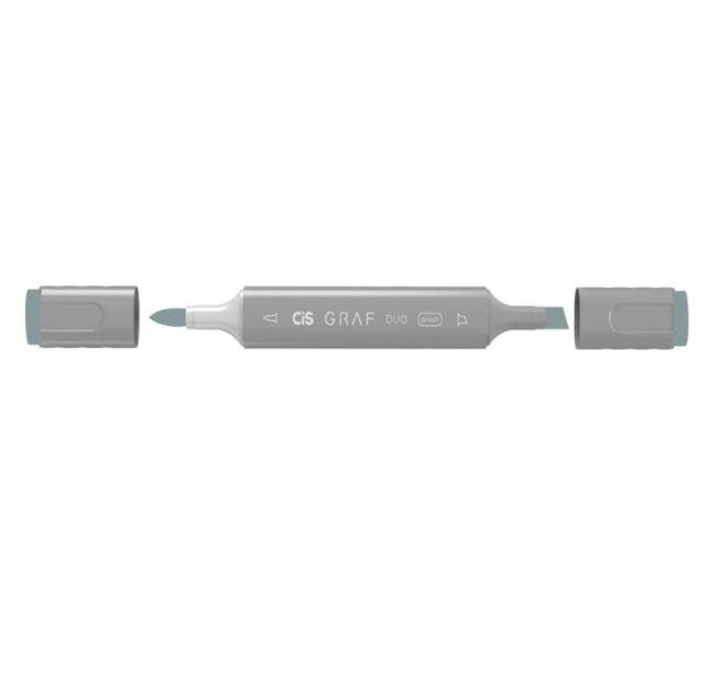 Marcador Graf Duo Brush Bg1 Blue Grey - Cis
