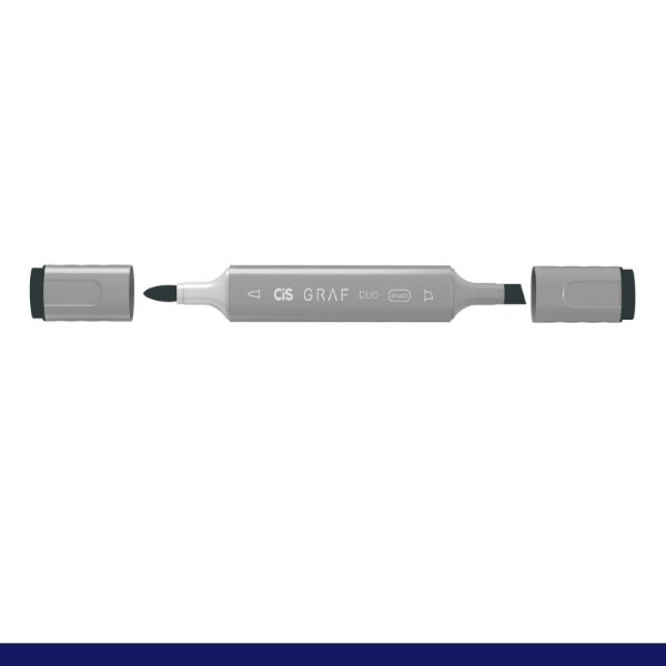 Marcador Graf Duo Brush Cg7 Cool Grey - Cis