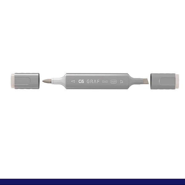 Marcador Graf Duo Brush Wg2 Warm Grey - Cis