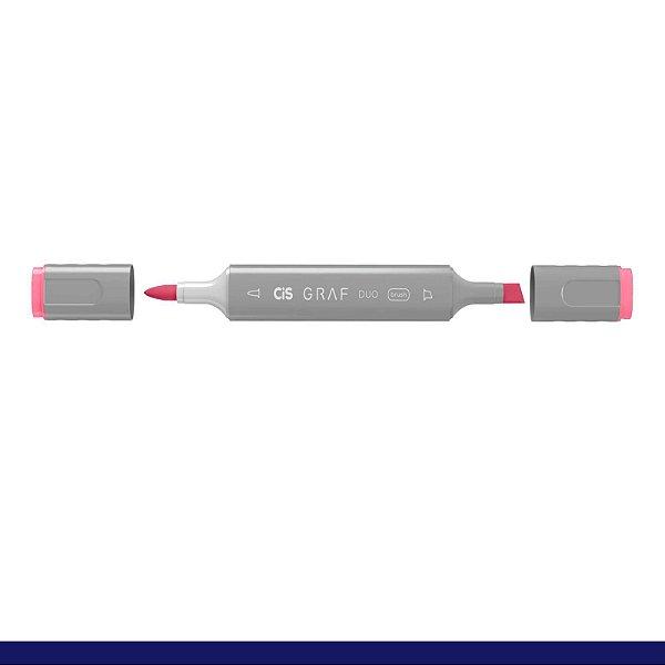 Marcador Graf Duo 003 Rose Red - Cis