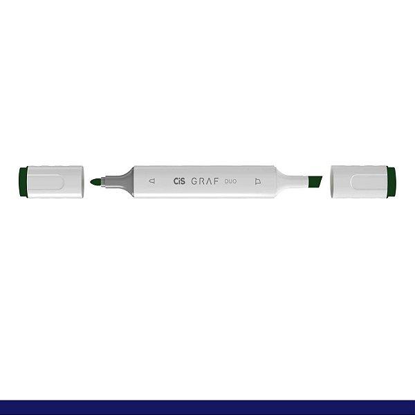 Marcador Graf Duo 051 Dark Green - Cis